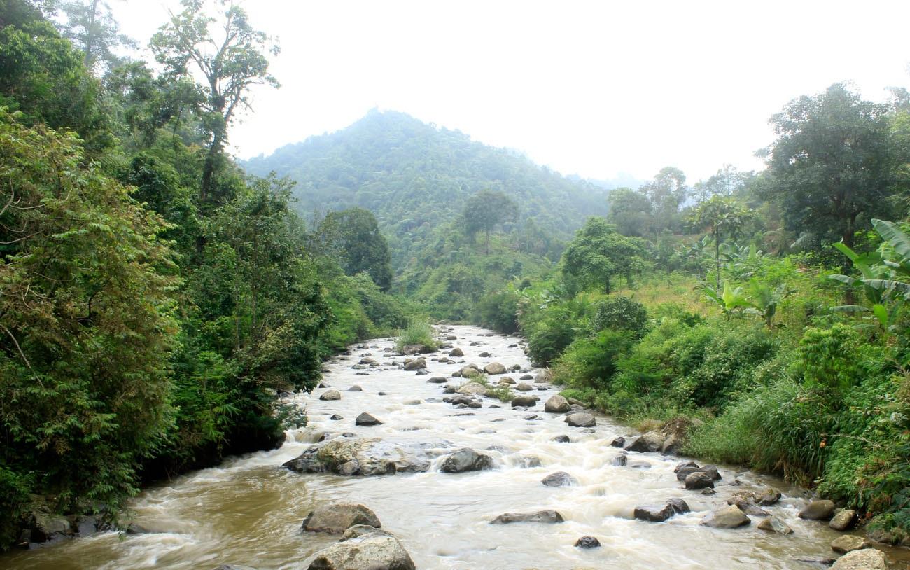 Sungai Cianggang-Pati. Nggak ketang ini mah Sungai Cisanggiri, wkwkwk...